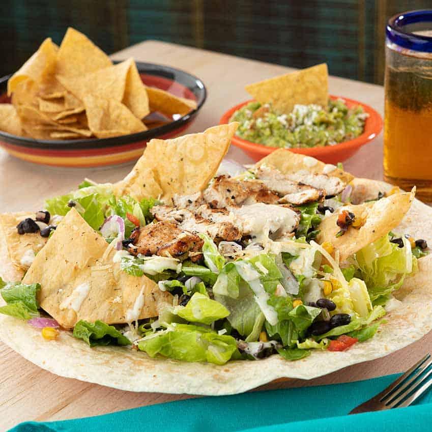 Caesar Chicken Salad Menu Item
